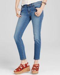 Free People Jeans - Ella Roller Crop In Lou Wash - Lyst