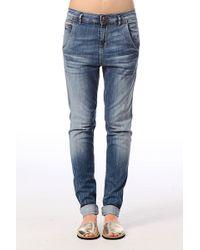 Ichi - Jeans Boyfriend Isabel - Lyst