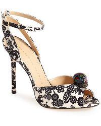 Charlotte Olympia Women'S 'Sophia' Ankle Strap Sandal - Lyst