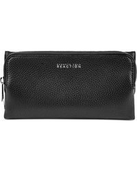 Kenneth Cole Reaction Zip Drive Trifold Clutch Wallet black - Lyst