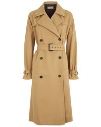 Paul by Paul Smith - Trench Coat - Lyst