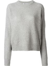 Alexander Wang Crew Neck Sweater - Lyst