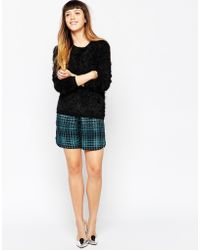 House of Holland - Check Shorts - Lyst