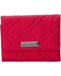 Vera Bradley Small Trifold Wallet - Lyst
