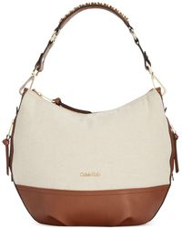 Calvin Klein Canvas Hobo - Lyst