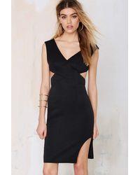 Nasty Gal Love Lockdown Cutout Dress black - Lyst