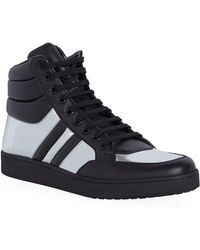 Gucci Ronnie Metallic High Top Sneaker - Lyst