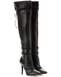 Tabitha Simmons Graydon Over the Knee Leather Boots - Lyst