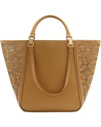 Vince Camuto Tylee Perforated Tote - Lyst