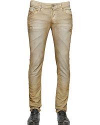 Diesel 17Cm Sleenker Stretch Cotton Denim Jeans - Lyst
