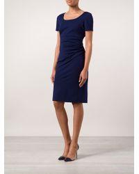 Diane von Furstenberg Bevina Fitted Dress - Lyst