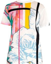 Prabal Gurung Graphic and Rose-print T-shirt - Lyst