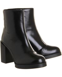 Cheap Monday Layer Zip Boot - Lyst