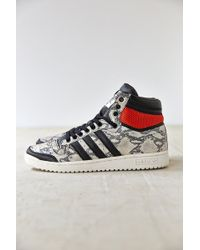 Adidas Originals Top Ten Hi Premium Snake Sneaker - Lyst