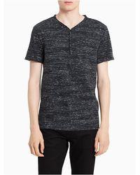 CALVIN KLEIN 205W39NYC - Slim Fit Grindle Henley Shirt - Lyst