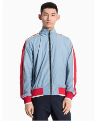 CALVIN KLEIN 205W39NYC - Piped Nylon Woven Jacket - Lyst