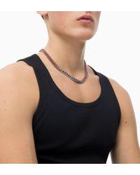Calvin Klein - Necklace - Shudder - Lyst