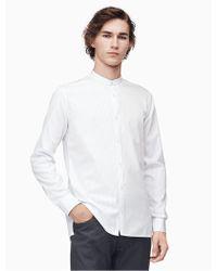 Calvin Klein - Slim Fit Yard Stripe Shirt - Lyst