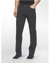 CALVIN KLEIN 205W39NYC - Slim Fit Knit Pants - Lyst