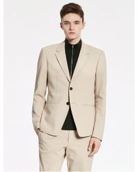 CALVIN KLEIN 205W39NYC - Tech Cotton Oxford Deconstructed Jacket - Lyst
