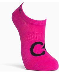 Calvin Klein - Performance Logo Liner Socks - Lyst