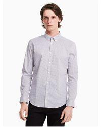 CALVIN KLEIN 205W39NYC - Slim Fit Geo Print Shirt - Lyst
