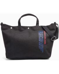 Calvin Klein - Large Canvas Tote Bag - Lyst