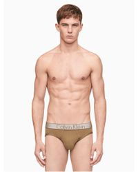 Calvin Klein - Customized Stretch Micro Hip Brief - Lyst