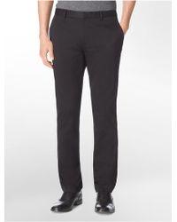 CALVIN KLEIN 205W39NYC - Slim Fit Cotton Twill Pants - Lyst