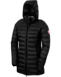 Canada Goose' Brookvale Hooded Coat - Women's Small - Black