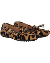 Car Shoe - Loafers Women Brown - Lyst