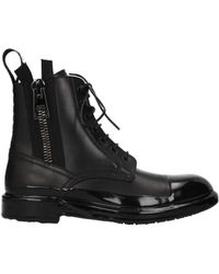 Dolce & Gabbana Ankle Boots Men Black