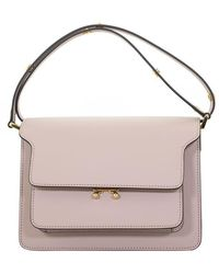 Marni - Trunk Bag In Calfskin - Lyst