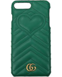 Gucci - Iphone Cover Iphone 7 Plus/8 Plus Women Green - Lyst