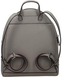 9e60f98bb6e7a8 Michael Kors - Backpacks And Bumbags Rhea Zip Md Women Grey - Lyst