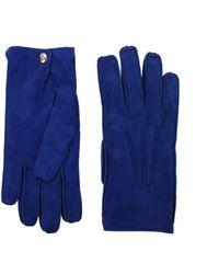 Alexander McQueen - Gloves Men Blue - Lyst