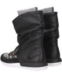 515c30af7f4c Nike - Sneakers W Roshe Two Hi Flyknit Women Black - Lyst