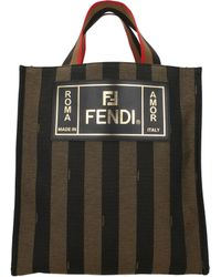 Fendi Handbags Men Brown