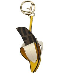 Fendi - Pendants Women Yellow - Lyst