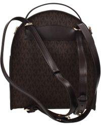 37205bd0060d18 Michael Kors - Backpacks And Bumbags Jessa Sm Women Brown - Lyst