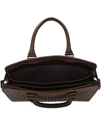 Bottega Veneta - Work Bags Men Brown - Lyst