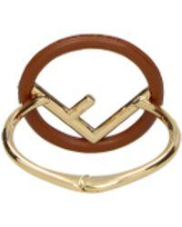 Fendi - Bracelets Women Brown - Lyst