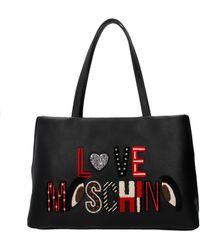 Love Moschino - Shoulder Bags Women Black - Lyst