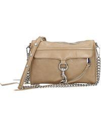 Rebecca Minkoff Crossbody Bag Mini Mac Women Beige