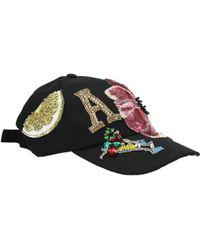 Dolce & Gabbana - Hats Women Black - Lyst