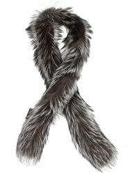 Prada - Scarves Women Grey - Lyst