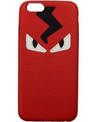 Fendi Iphone Cover Iphone 6 Men Red