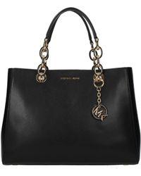9b0ee28a748c Michael Kors - Handbags Cynthia Md Women Black - Lyst