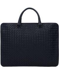 Bottega Veneta - Work Bags Men Blue - Lyst