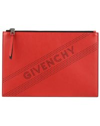 Givenchy - Perforated Medium Pouch - Lyst